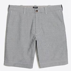 "J Crew 9"" sunwashed oxford Gramercy short"